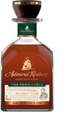 Admiral Rodney HMS Formidable rum