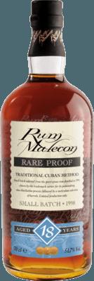 Medium malecon rare proof 1998 18 year