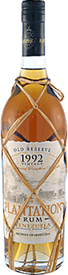 Medium plantation venezuela 1992 rum