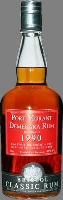 Port morant 1990 demerara rum