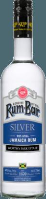 Medium worthy park rum bar silver