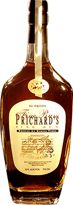 Medium prichard s cranberry rum