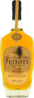 Medium prichard s peach mango rum