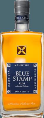 Medium blue stamp blue stamp