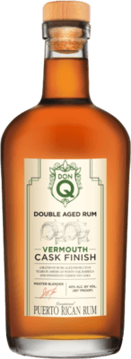 Medium don q vermouth cask