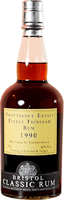 Medium providence estate 1990 trinidad rum