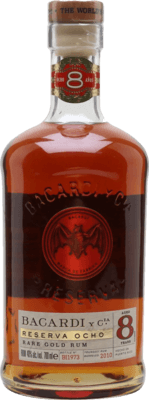 Medium bacardi reserva ocho 8 year