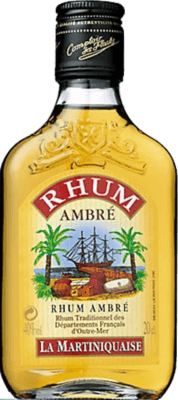 Medium rhum ambre 40deg cl la martiniquaise 123973