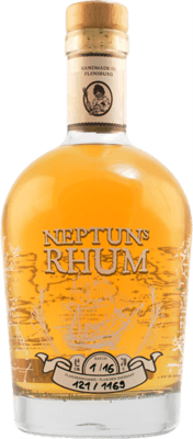 Medium neptunes gold rhum