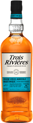 Medium trois rivieres teeling whiskey finish