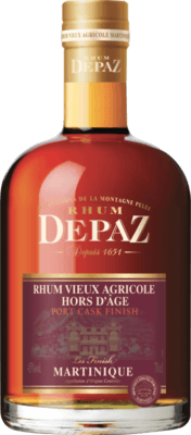 Medium depaz port cask finish
