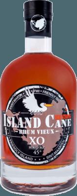 Medium island cane xo