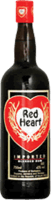Small red heart blended rum
