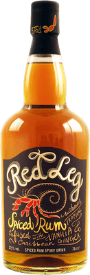 Medium red leg spiced rum
