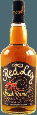 Medium red leg spiced rum