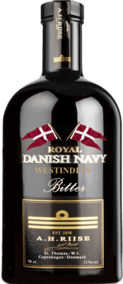 Medium a h riise royal danish navy westindian bitter