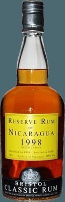 Medium reserve rum of nicaragua 1998 rum