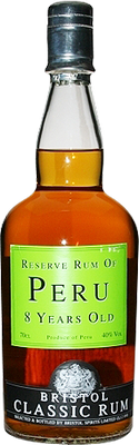 Reserve rum of peru 8 years old rum