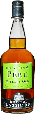 Medium reserve rum of peru 8 years old rum