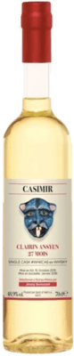 Medium clairin casimir ansyen 27 mois single cask whkca6 rhum