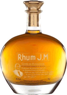 Rhum jm cuvee du fondateur rum 400px