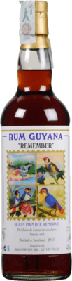 "Moon Import Guyana ""Remember"" rum"