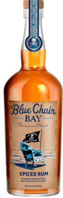 Medium blue chair bay spiced