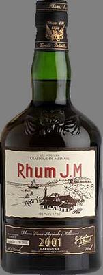 Rhum jm vintage 2001 rum