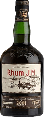 Medium rhum jm vintage 2001 rum