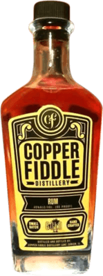 Medium copper fiddle gold