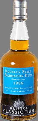Rockley still 1986 barbados rum