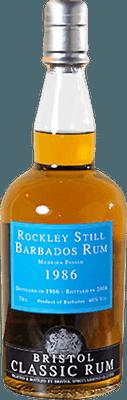 Medium rockley still 1986 barbados rum