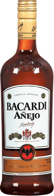 Medium bacardi anjelo rum