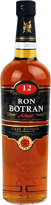 Medium ron botran  anejo 12 rum