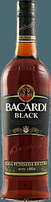 Medium bacardi black rum