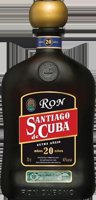 Santiago de cuba 20 year rum