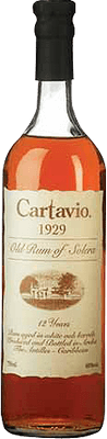 Medium ron cartavio 12 year rum