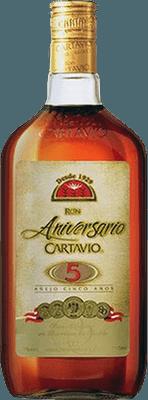 Medium ron cartavio 5 year rum