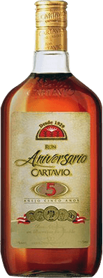Medium ron cartavio 5 year rum