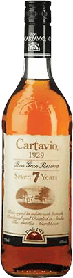 Medium ron cartavio 7 year rum