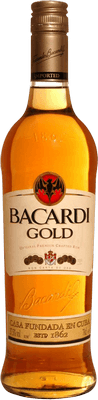 Medium bacardi gold rum