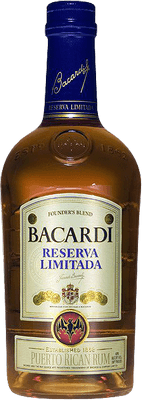 Medium bacardi reserva limitada rum