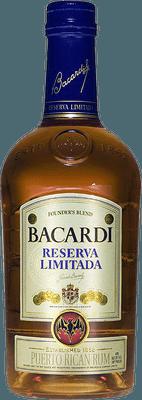 Medium bacardi reserva limitada rum