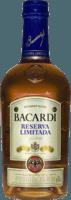 Small bacardi reserva limitada rum