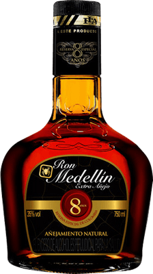 Medium ron medellin  a ejo 8 year extra a ejo rum