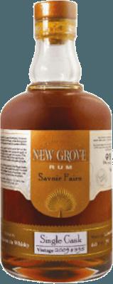 Medium new grove savoir faire single cask vintage 2007