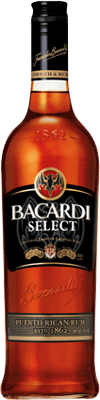 Medium bacardi select rum