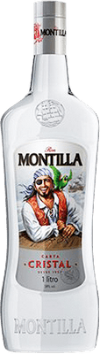 Medium ron montilla carta cristal rum