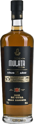 Medium ron mulata anejo 15 year rum