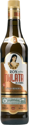 Medium ron mulata anejo reserva rum